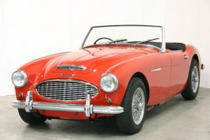 1959 Austin-Healey 100/6 BN6 - Rare Original UK RHD Car - Red with Red Interior