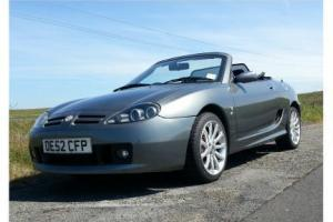 MGTF 160 bhp Mint 2002/3 only 27,500 mls FSH