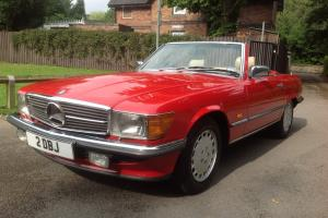 MERCEDES-BENZ 500 SL WITH REAR SEATS R107
