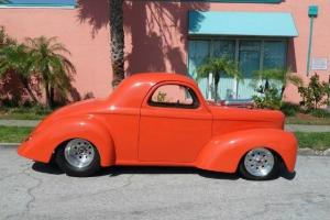 WILLYS COUPE STREET ROD, SUPERCHARGED 406,  4 SPEED, PROFESSIONAL BUILD