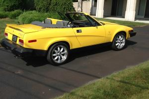 1980 TRIUMPH TR8 -TOTAL RESTORATION TO HIGHEST QUALITY