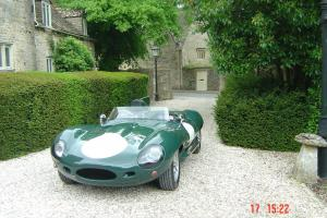 D-Type Jaguar - Revival Motorsport Replica