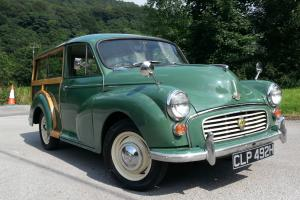 1969 Morris Minor traveller, restored car lovely condition, great mechanically
