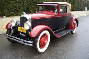 1927 Marmon Model L Cabriolet Convertible Photo