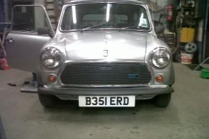 1984 AUSTIN MINI 25 SILVER fully restored-39.000miles only with records