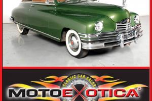 1949 PACKARD SUPER EIGHT VICTORIA CONVERTIBLE ONE OWNER ARIZONA CAR FOR 40 YEARS