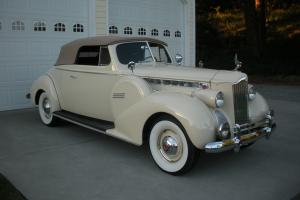 1940 Packard 160 Super 8 Convertible Coupe Photo