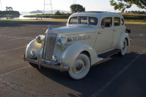 1935 Packard Touring Sedan First Sedan First Year 120