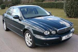 2004 04 JAGUAR X-TYPE 2.0D SE 4D 130 BHP DIESEL  Photo