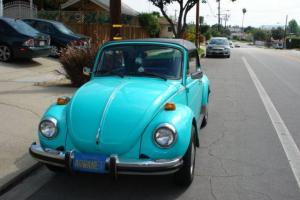 CLASSIC 79 CONVERTIBLE VW BUG CALI CAR RUST FREE 2OWNER RELIABLE VINTAGE DRIVER