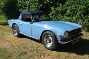 1973 Triumph TR6.  Photo