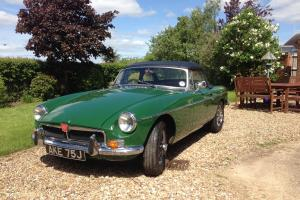 1971 MGB Roadster with black leather - No expense spared.  Photo