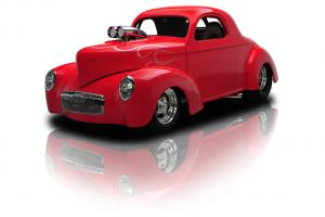 Blown Willys Outlaw Coupe 502 Dual Quad 5 Speed Manual