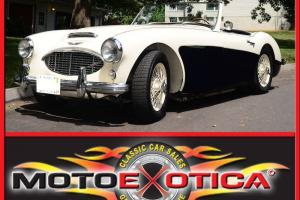 1959 AUSTIN HEALEY 100-6 BN6-FULL BODY OFF RESTORATION-RARE OPTIONAL HARD TOP!!! Photo