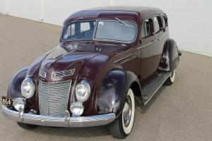 "1937 Chrysler Airflow C-17 4Dr Sedan "" Frame Off """