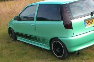 1997 FIAT PUNTO GT TURQUOISE 1 of 300