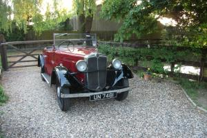 Morris 10/4 1934 Tourer with Dickey Seat