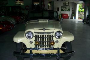 1950 Jeep Willys Jeepster 2.6L