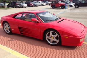 Ferrari 348 GTS TARGA, 22,200 MILES, GUARDS RED, ONE OF A KIND, RECORDS