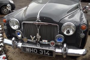 Rover P4 90 classic car V low mileage - number plate WHO314
