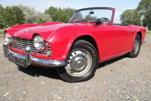 1961 TRIUMPH, THE RAREST OF THE TR4 Photo