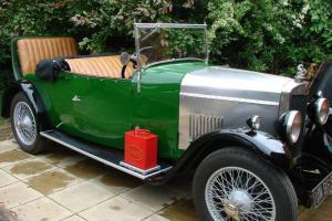 1929 Lea Francis P Type 2 seater plus Dickie  Photo