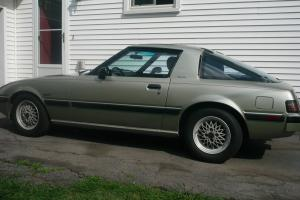 Limited Edition 1983 Mazda Rx7 with a 4 cylinder engine