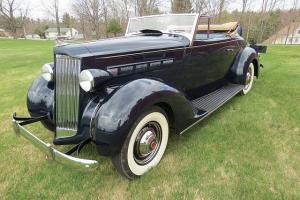 OLD 1937 Packard Convertible Coupe