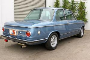 1972 BMW 2002tii 2-Owner SoCal Car 500 miles since restoration Rare Baikal Blue