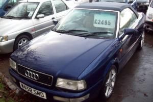 2000 Audi Cabrio Sports/Convertible 1.8 Petrol  Photo