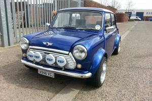 1984 AUSTIN MINI 1000 CITY E BLUE