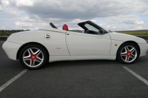 Very Very Rare 3litre V6 Alfa Spider L.H.D. 12,500 miles only, Utterly Stunning.