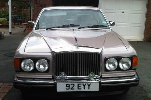 1986 BENTLEY MULSANNE BEIGE  Photo