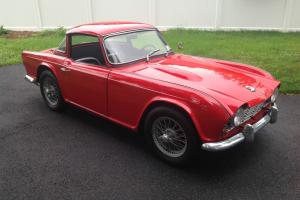 1963 Triumph TR4 Surrey Top TR-4 Classic British Sports Car Photo