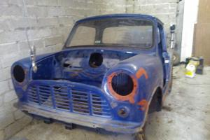 1982 AUSTIN MORRIS MINI PICKUP 95L BLUE