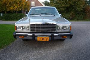 Beautiful 1982 American Ford Granada one owner 31.000 miles from new