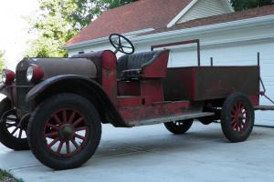 1923 REO Speedwagon Fire Truck. Barn Find. Original. Mechanically Restored.