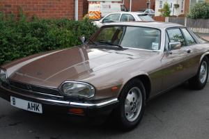 1985 JAGUAR XJS HE AUTO BRONZE/GOLD in great condition