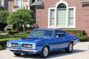 1968 Plymouth Barracuda Completely Restored 360 GORGEOUS Cuda Show Car