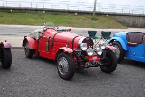 Bugatti Type 35B Replica in red