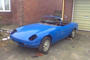 Lotus Elan S3 DHC Galvanised chassis rebuilt fast road engine for restoration