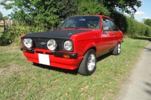 1978 FORD ESCORT MEXICO RED