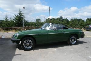 Morris MGB roadster Green eBay Motors #321180196477