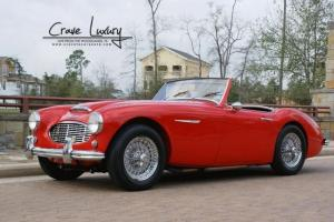 Austin Healey 100-6 convertible.  BN6 4speed w/overdrive