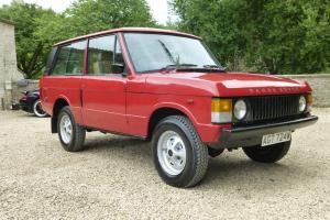 VERY LOW MILEAGE 1981 RANGE ROVER 2 DOOR CLASSIC  Photo