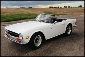 1971 Triumph TR6 - fully and professionally restored