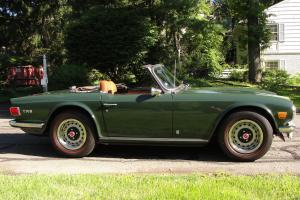 1971 Triumph TR6 Convertible Factory Overdrive California Car Its Whole Life WOW