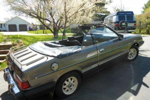 1983 Subaru GL CONVERTIBLE - RARE COLLECTOR CAR - GREAT CONDITON/RUNS  GREAT