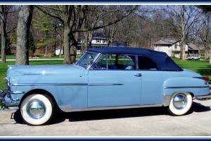 1949 Chrysler New Yorker convertible body off restoration beautiful must see
