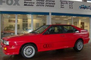 1983 AUDI QUATTRO UR 2.1 QUATTRO 2D 200 BHP  Photo